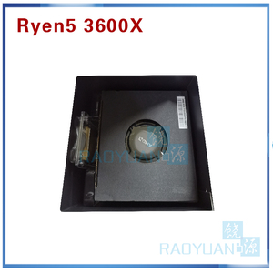 Image 4 - AMD Ryzen 5 3600X R5 3600X 3.8 GHz Six Core Twelve Thread 7NM 95W L3=32M 100 000000022 CPU Processor  Socket AM4 with cooler fan