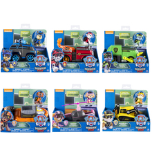 Original Paw Patrol Mission Rescue Toys Set Truck Spin Master Vehicle Toy Anime Action Figure Gift