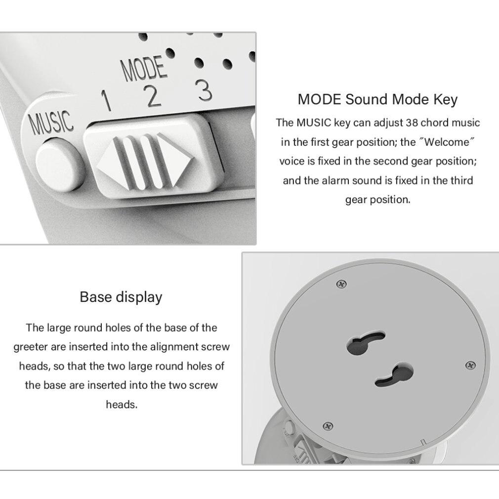 Купить беспроводной дверной звонок с инфракрасным датчиком движения