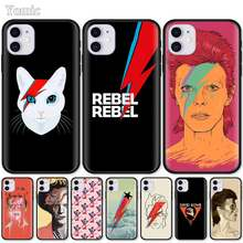 Ddd Case Voor Apple Iphone 7 8 Xr 11 Pro X Xs Max 6 6S Plus 5 5S se 2020 Siliconen Zwart Soft Phone Cover(China)