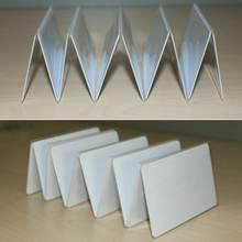 10 шт ntag215 непечатные nfc карты перезаписываемые белые чистые