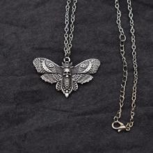 Моли кулон Цепочки и ожерелья ювелирных изделий насекомых на день рождения любителей природы подарок