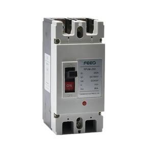 Solar DC Moulded Case Circuit Breaker (DC MCCB) FPVM 2P 550V 160A 200A 250A DC MCCB(China)