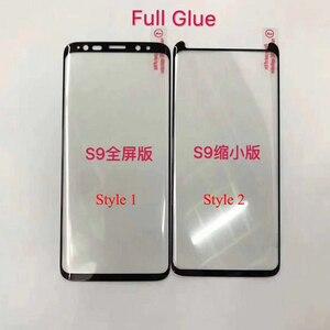 Image 2 - 10 chiếc Full Keo Bảo Vệ Màn Hình Trong cho Samsung S8 Plus 3D Cong Full Keo Dán Kính Cường Lực cho S9 Plus note 8 9 10 S10
