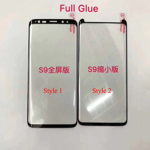 Image 2 - 10pcs Full Glue Screen Protector for Samsung S8 Plus 3D Curved Full Adhesive Tempered Glass Film for S9 Plus Note 8 9 10 S10