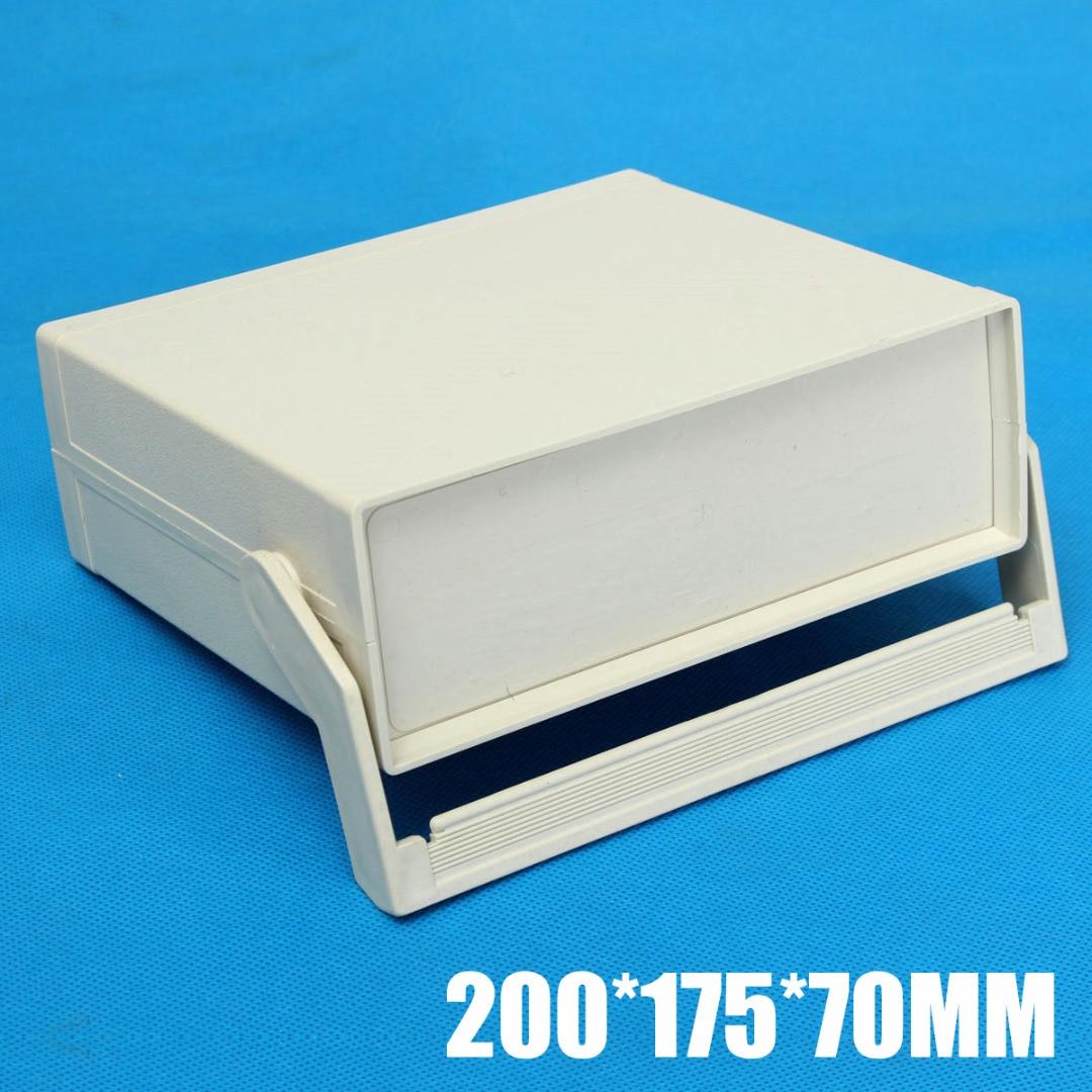 2019 Nieuwe Plastic Behuizing Elektronica Project Case Instrument Shell Doos 200*175*70mm Power Control Kast Met schroeven