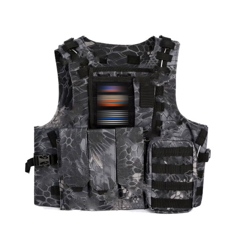 Unloading Airsoft Tactical Vest Molle Vest Protection Plates Colete USMC Soldier Combat Vest Army Military Camouflage Carrier