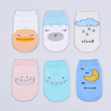Cute Spring Autumn Baby Socks Newborn Cotton Boys Girls Toddler  Anti-slip for babies winter 0-2 Y