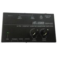 Ma400 усилитель для наушников, предусилитель для микрофона, предварительный усилитель для наушников, миксер для персонального монитора, штепсельная вилка европейского стандарта