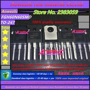 Image 3 - Aoweziic  2020+ 10 PCS 100% new imported original 60N60 FGH60N60  FGH60N60SFD  FGH60N60SMD FGH60N60UFD TO 247 IGBT tube 60A 600V