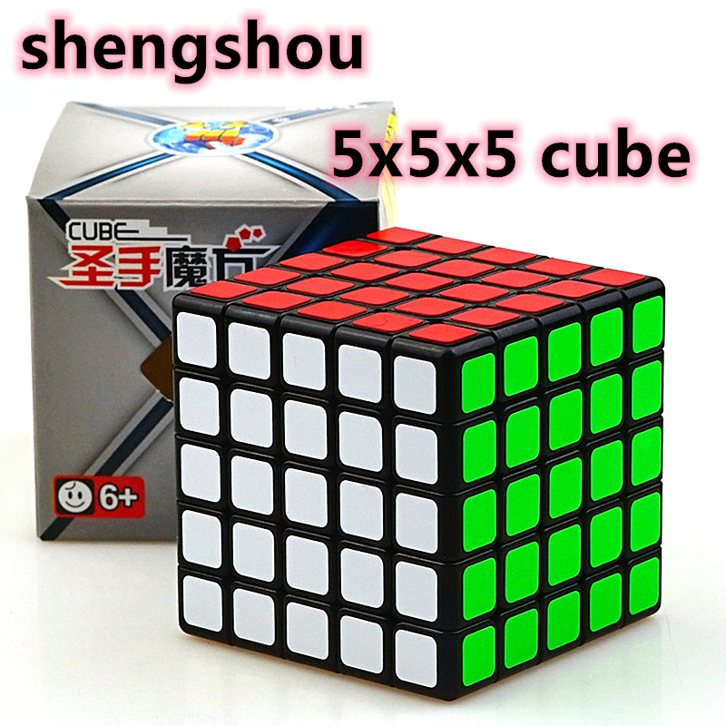 Shengshou Legend 5x5x5 Magic Cube Legend 5x5 Puzzle Magic Cubo Shengshou 5x5 Speed Cube Toy For Children Kids Gift