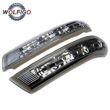 WOLFIGO L R 백미러 LED 턴 신호등 램프 깜박임 876133J000 876233J00 현대 산타페 베라 크루즈 IX55 2007 2012