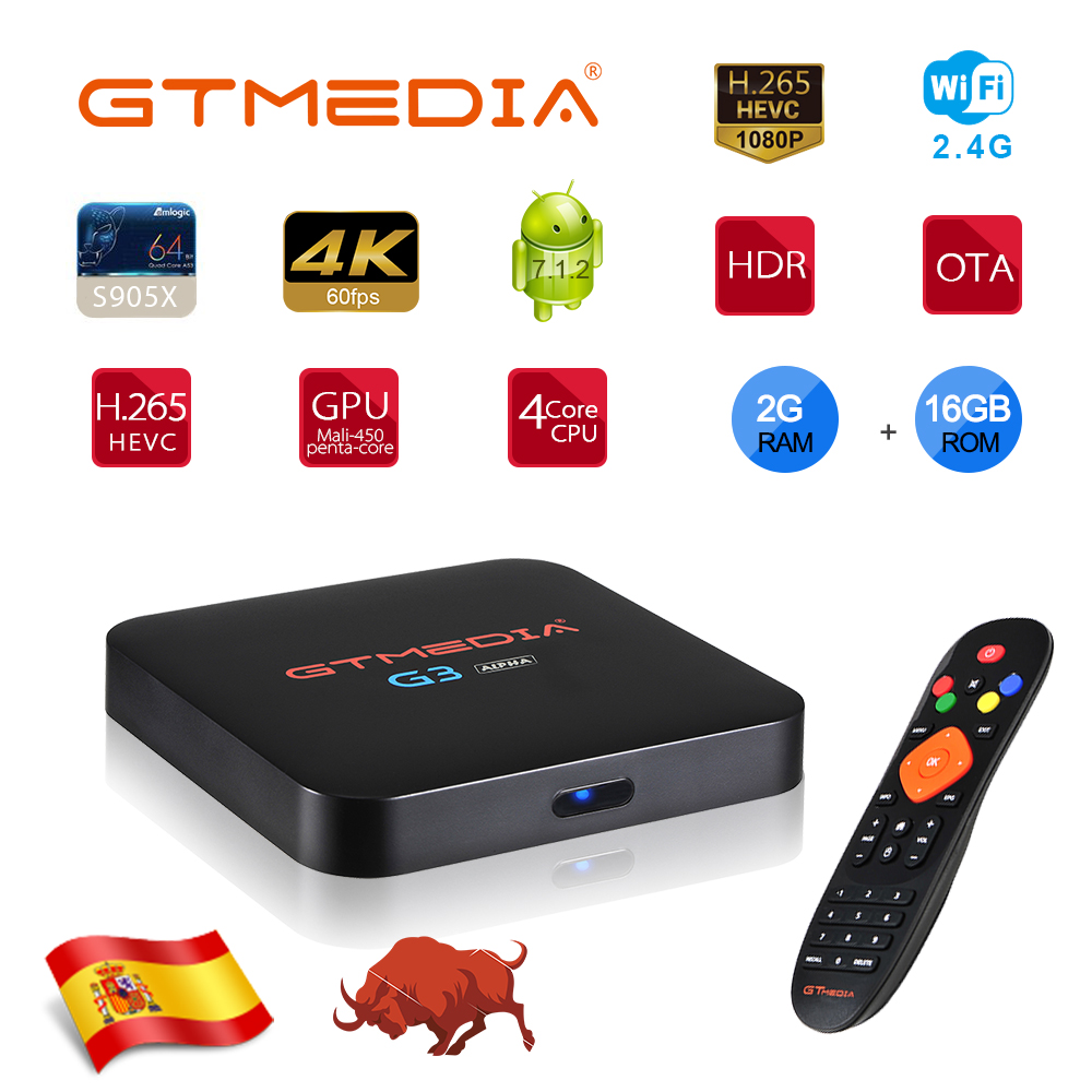 Android TV Box G3 Bluetooth TV Box Google Assistant Youtube 4K 3D Wifi 2.4G&5G 2GB RAM 16G Play Store IPTV Top Box For IPTV M3U