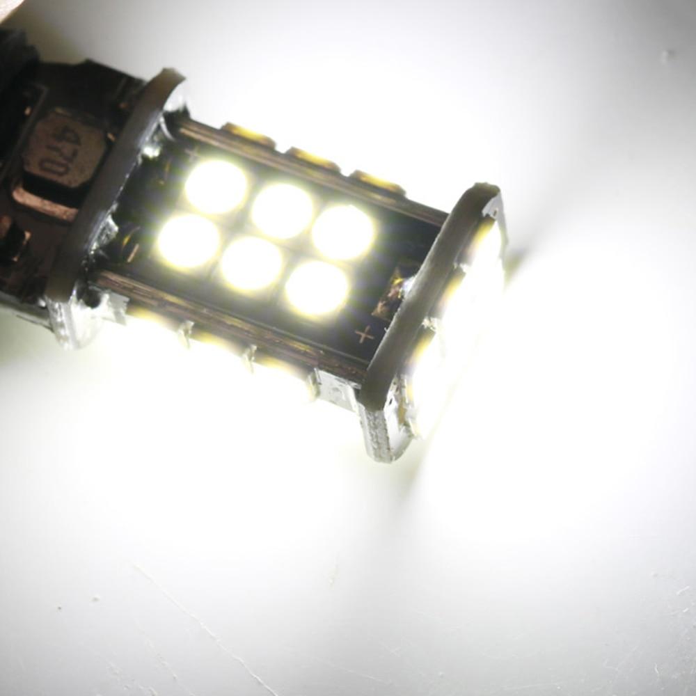 White 2PCS T15 W16W Super Bright 1200Lm 3030 SMD LED CANBUS NO OBC ERROR Car Backup Reserve Lights Bulb Tail Lamp Xenon