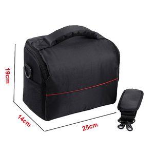 Image 5 - Waterproof Waterproof Nylon Camera Shoulder Bag Carrying Case for Canon EOS 77D 70D 80D 4000D 2000D 5D Mark IV III 60D 6D 7D II