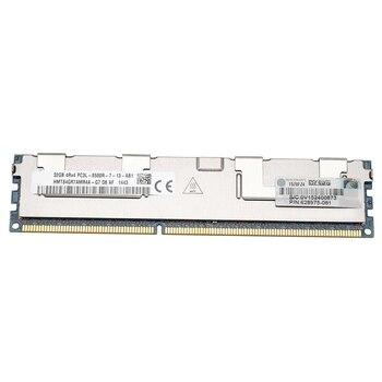 32GB PC3-8500R DDR3 1066Mhz CL7 240Pin ECC REG Memory RAM 1.35V 4RX4 RDIMM RAM for Server Workstation