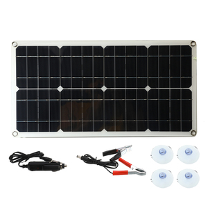 Image 4 - 50W Monocrystalline Silicon Solar Panel Cell for Battery Cell Phone Chargers Cigarette Lighter Double USB Interface 12V/5V
