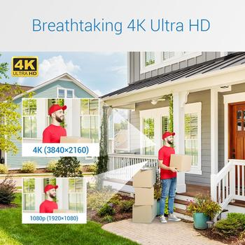 ANNKE 16CH 4K Ultra HD POE Network Video Security System 8MP H.265+ NVR With 16X 8MP 30m EXIR Night Vision Waterproof IP Camera 2