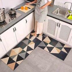 Tapis de cuisine anti-dérapant pour sol tapis de bain moderne paillasson d'entrée Tapete mode absorbant petits tapis salon chambre tapis de prière