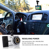 Dpower D05 Highlight Touch Screen Driving Recorder Mirror + GPS Tracking GPS Navigation Loop Recording Night Vision