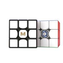 Yongjun original quente yj mgc3 elite m 3x3x3 magnético 3*3 cubo magico 3x3 velocidade cubo mágico mgc brinquedo de educação de elite para presentes do miúdo