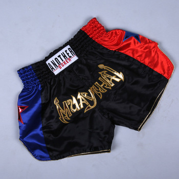 XS-3XL Men #8217 s Boxer Shorts Kids Women Muay Thai MMA Kickboxing Short Grappling Crossfit Bjj Boxeo Trunks Sanda Sport Costumes tanie i dobre opinie Poliester Thai boxing shorts Pasuje prawda na wymiar weź swój normalny rozmiar List XS S M L XL XXL XXXL Black White