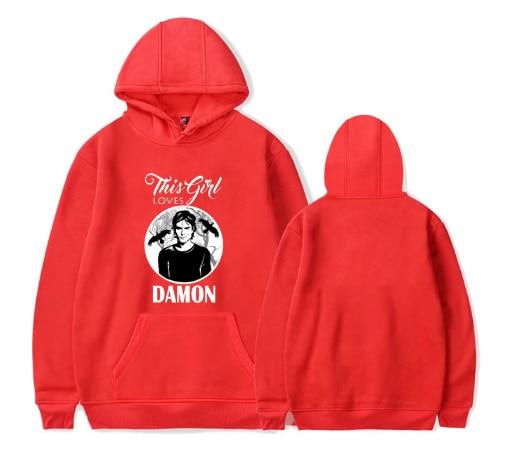 The Vampire Diaries Hoodie Sweatshirt Men Harajuku Hoodies Hip Hop Streetwear Sweatshirt Mujer Bluza Damska Winter Clothes Women 9