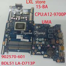 BDL51 LA-D713P for HP 15-BA motherboard Mainboard laptop 902