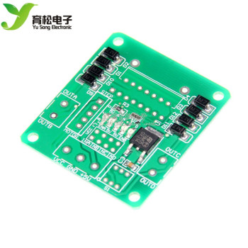 PCB board SMD components have been pasted L298N motor drive module drive board stepping robot intelligence image