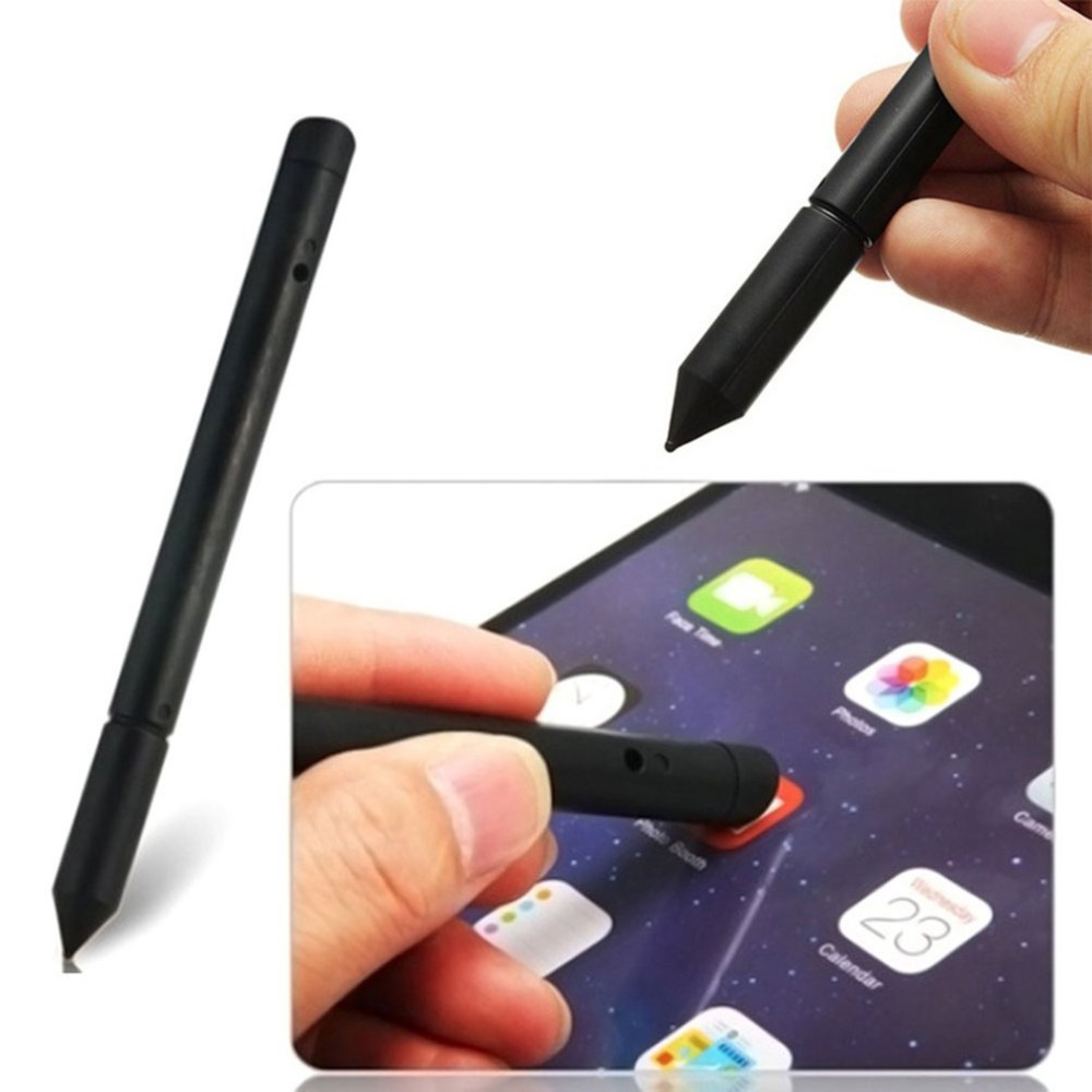 2-in-1Multifunction Touch Screen Pen Universal Stylus Pen Resistance Touch Capacitive Pen for Smart Phone Tablet PC Random Color