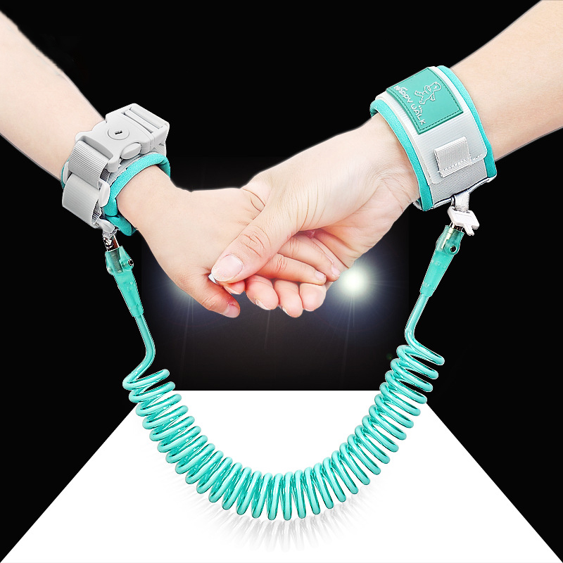 Child Anti Lost Wrist 1.5M Strap Rope Toddler Leash Safety Harness Outdoor Walking Hand Belt Band Anti-lost Wristband