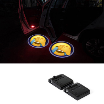Wireless Car Door Welcome Logo Light Projector For BMW E36 E39 E46 E60 E61 E53 E70 E83 E87 E90 E91 X1 X3 X5 X6 image