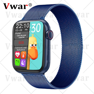 Vwar HW12 40mm Smart Watch Series 6 Full Screen Bluetooth Call Music Play IWO Pro Men Women Max3 Smartwatch for Android IOS