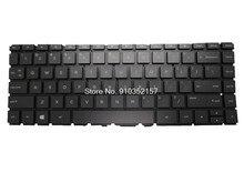 Клавиатура с подсветкой для HP для Pavilion 14-AB000 14-AB100 14-AB200 14-AB20014-AB013TU V150546BS1 США новинка