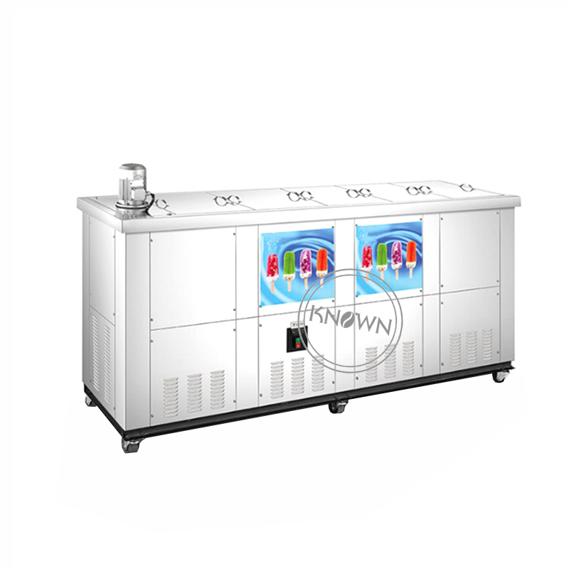 Commercial Automatic Ice Popsicle Machine Lolly With 8 Moulds Bgy Sea