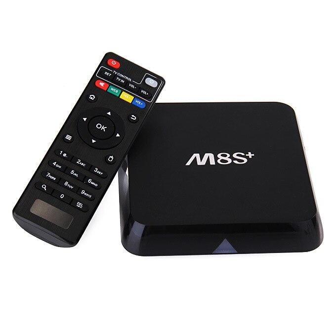 Wyprzedaż M8S + S905 Set-Top Box Android 5.1 DDR3 1G 8G uchwyt na TV BOX Wifi BT TV pudełko