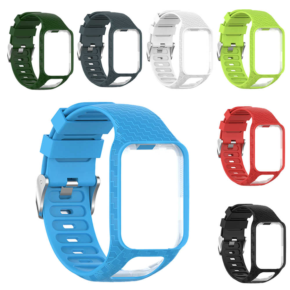 Best Selling Silicone Watch Wrist Band Strap Bracelet For TomTom Runner 2&3/Golfer 2/Spark 3