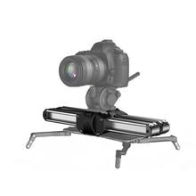 Nouveau Zeapon Micro 2 caméra curseur piste Dolly curseur Rail professionnel Portable Mini curseur vidéo pour Canon Nikon Sony DSLR BMCC
