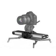 新しい zeapon マイクロ 2 カメラスライダートラックドリースライダーレールプロフェッショナルポータブルミニビデオスライダー用 bmcc
