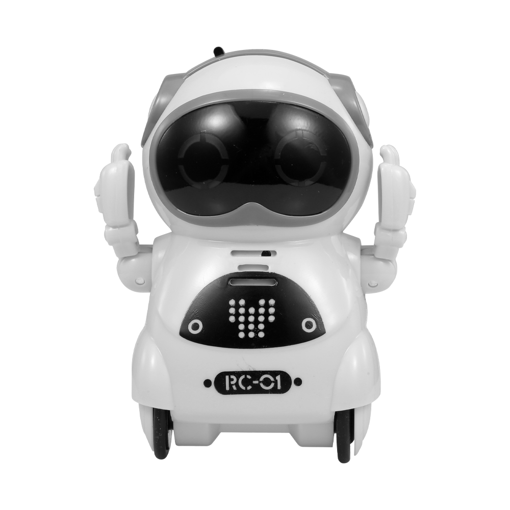 Robot RC Pocket Intelligent Interactive Talking Dialogue Voice Recognition Record Singing Dancing Telling Story Mini Robot Toy