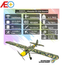 """2020 New SCG21 Fieseler Fi 156 Storch 1600mm (63"""") Balsa Storch Balsa ARF PNP RC Airplane Film Covering Finished"""