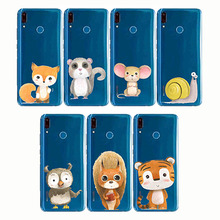 cartoon zebra penguin Bear fox Koalas lion bird panda tiger rabbit Hedgehog animal Phone Cases for huawe Y5 Y6 Pro Y7Prime Y9