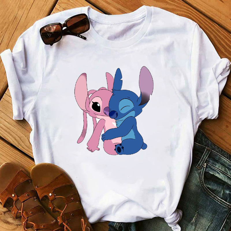 New 2020 Women's Fashion Kawaii Tshirts Lovely Cartoon Female Printed Casual T-hirt Ladies Summer Casual Short Sleeves