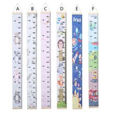 Wall Hanging Baby Height Measure Ruler Child Kids Growth Chart Home Decoration Height Chart
