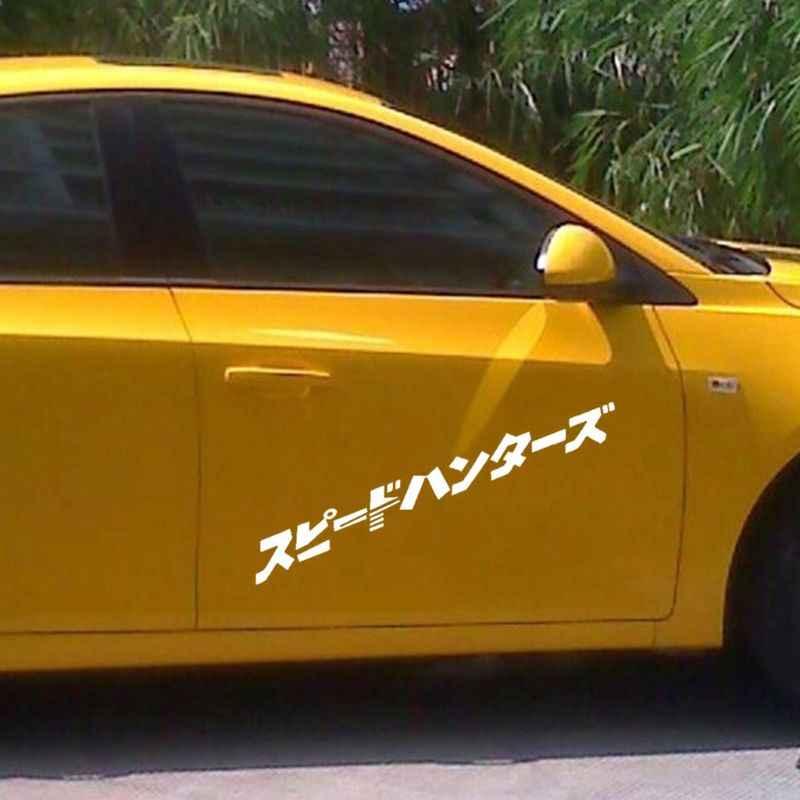 اليابانية JDM سبيدهنتر سيارة ملصق المصباح هود عاكس الشارات ديكور ملصق سيارة