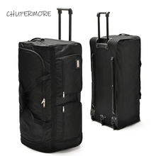 Chupermore 40 inch High capacity Travel Bags Men Business Ox