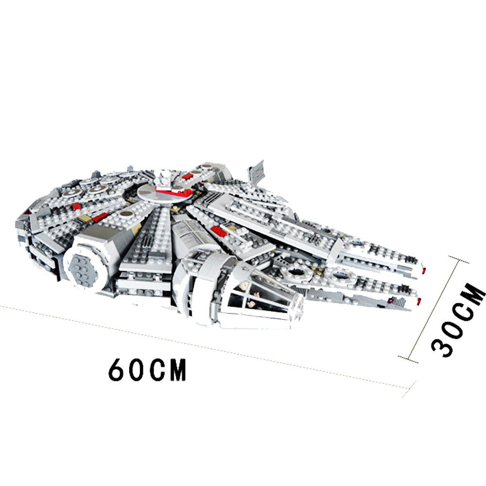 Force Awakens Millenniumes Falconing Toys Compatible legoery Star Warsery 75105 Building Blocks Figures Toys for Children Gift in Blocks from Toys Hobbies