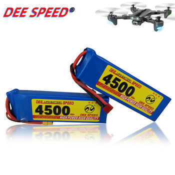 Dee 5S RC Lithium Battery 18.5V 1300 1500 1800 2200 2600 3000 3500 4200 6000mAh 25C 35C 60C for UAV Helicopter Car 3S LiPo RC image