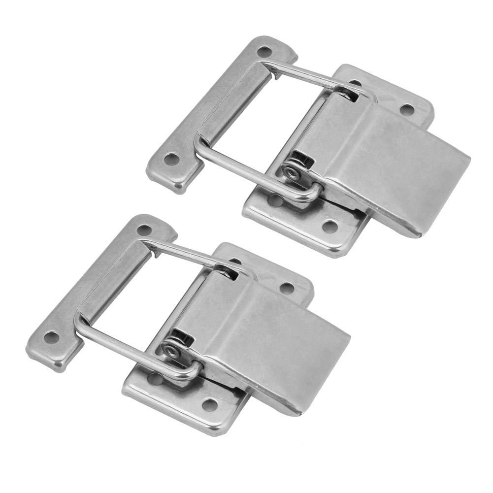 Hardware Cabinet Box Case Spring Loaded Latch Catch Toggle Hasp