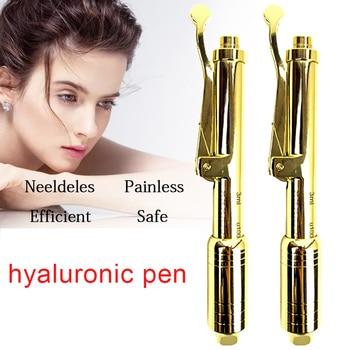 24K gold 0.3ml Hyaluronic Acid Pen hyaluronique pen Needle Free lip injection gun Noninvasive Nebulizer for lip face lifting